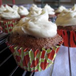 Chinese Five Spice Carrot Cupcakes