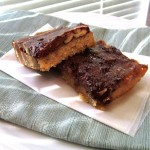 Ooey-Gooey Caramel & Chocolate Bars -Revisited