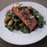 The Sun Sets On Grilled Rosemary Salmon