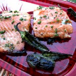 Honey-Jalapeno Glazed Salmon