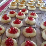 Thumbprint Butter Cookies