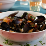 Mussels In White Wine For Two