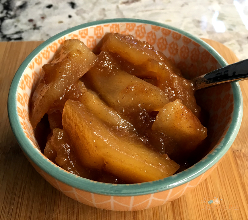 Stewed Autumn Apples