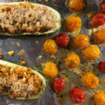 Healthy Summer Stuffed Zucchini