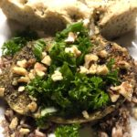 Spice Up Your Life – Za'Atar Crusted Chicken with Lemon Parsley Salad