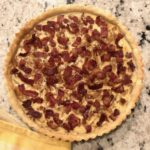 French Onion and Bacon Tart Ahhhhhmazing