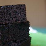 Black Onyx Zucchini Cake